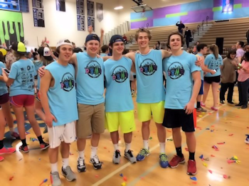 Deep Run Students at the Dance MArathon