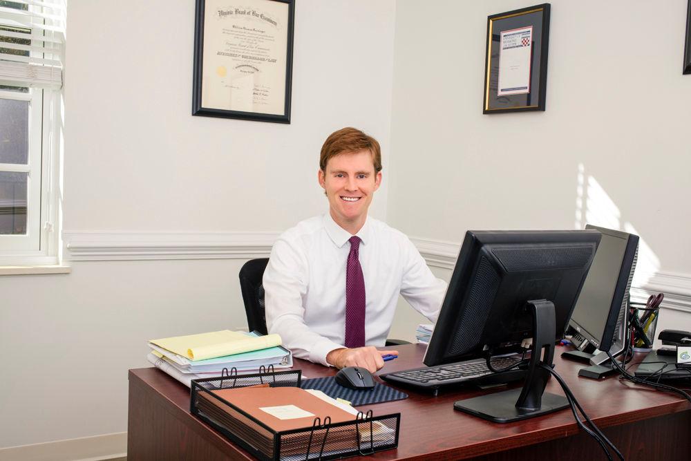 Will Reisinger at his desk