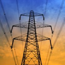 transmission towers for electricity