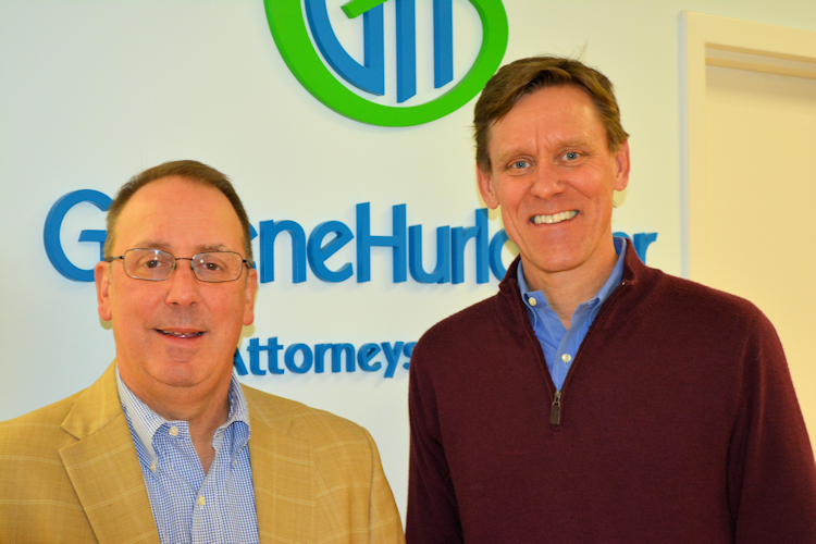 Eric Hurlocker welcomes Jared Burden to the firm.