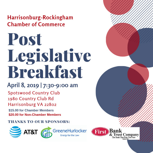 Chamber Post-Legislative Breakfast 2019